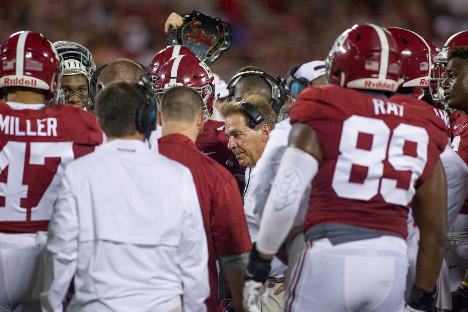 Ernie Johnson's Incredible Speech To Alabama Football Team Goes Viral (VIDEO)
