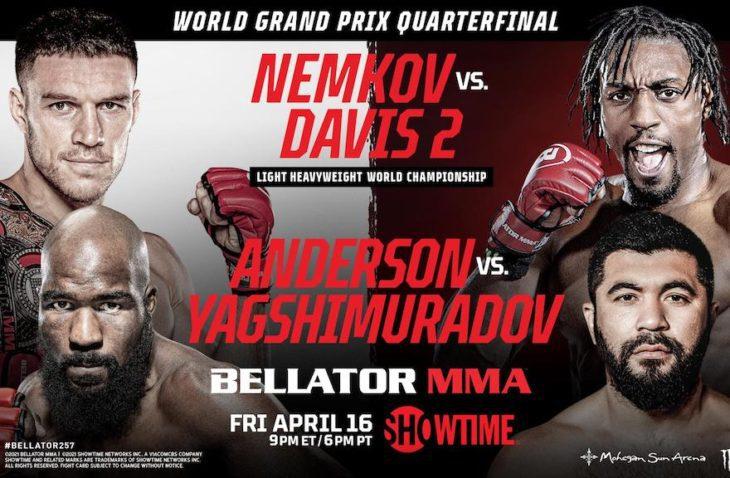 Bellator 257 Weigh-In Results: Vadim Nemkov vs Phil Davis 2