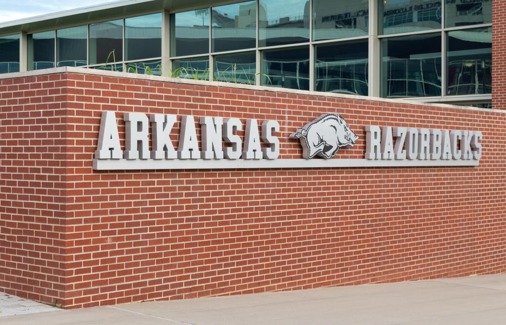 Arkansas AD Takes Cleat To Face At Practice; Cracks Petrino-Motorcycle Joke