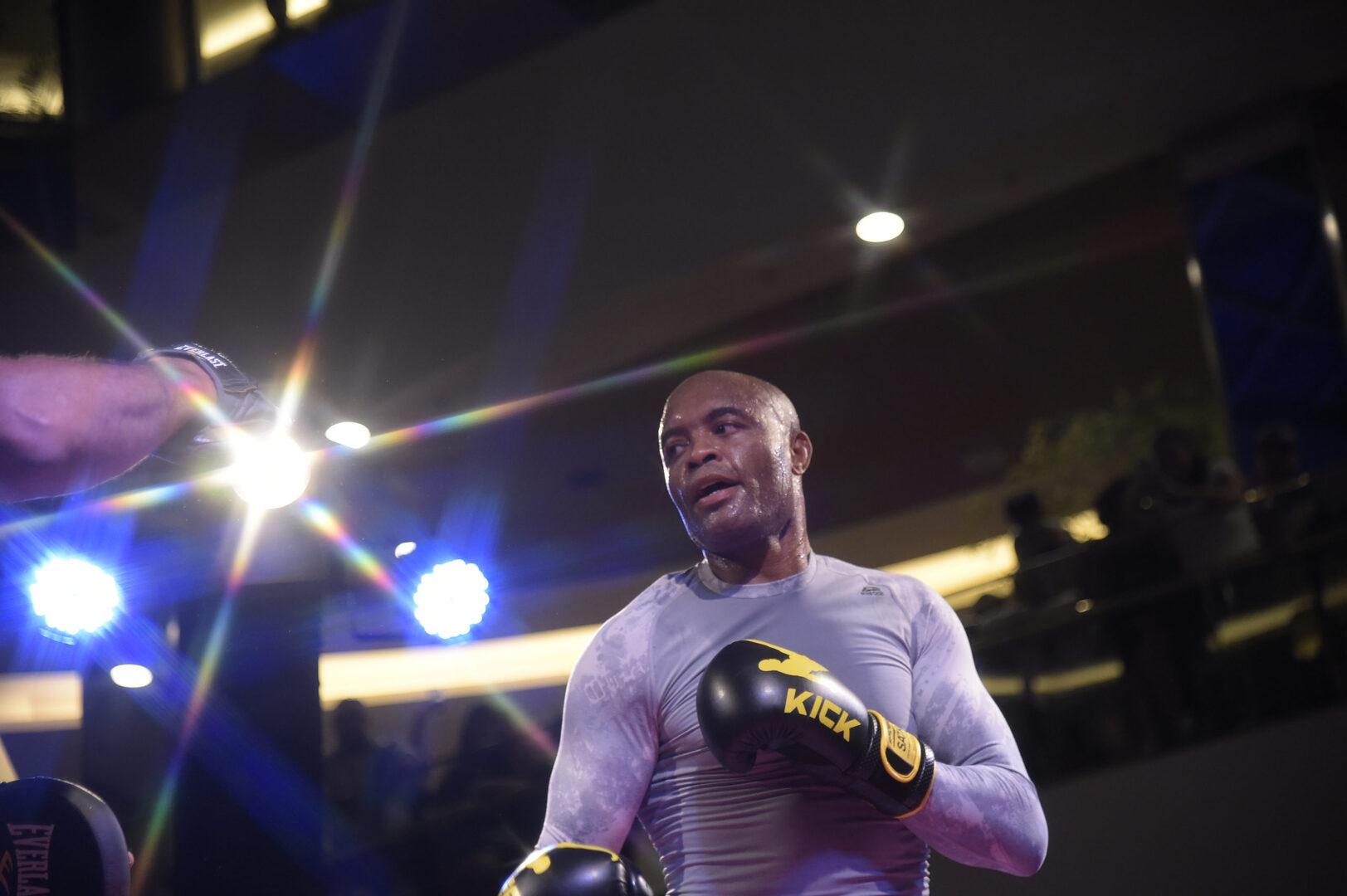 Anderson Silva's Son Kalyl Scores 11-Second Switch Kick KO In Kickboxing Debut