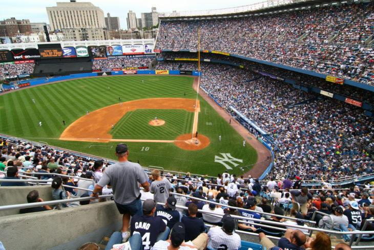 Yankees Fan Takes Giancarlo Stanton Home Run To The Head (VIDEO)