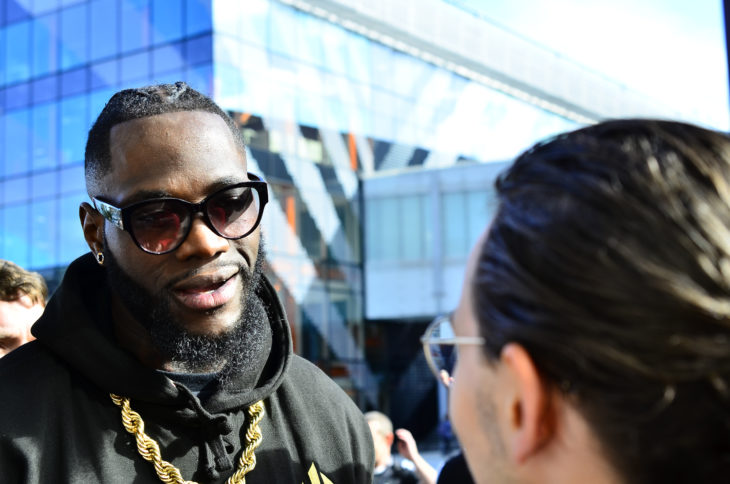 Deontay Wilder Issues Statement Following KO Loss To Tyson Fury